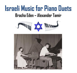 Israeli Music For Piano Duets