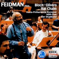 Plays Bloch – Olivero - Bat Chaim