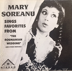 Sings Favorites From The Roumanian Wedding
