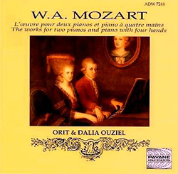 Mozart - The Works for 2 Pianos & Piano With 4 Hands